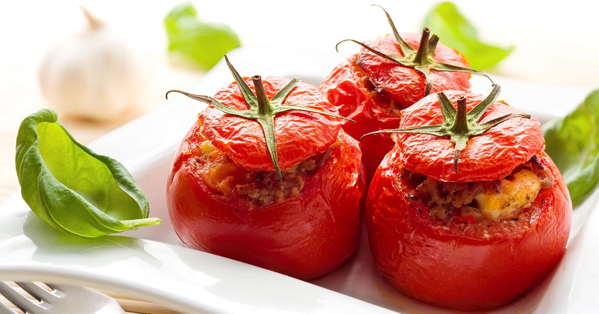 Tomatoes Rockefeller recipe