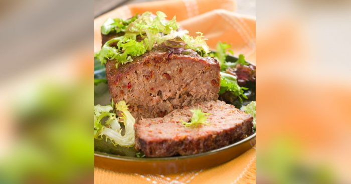 Fortified Meat Loaf