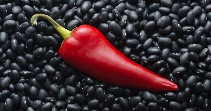 Candida-free black bean dip