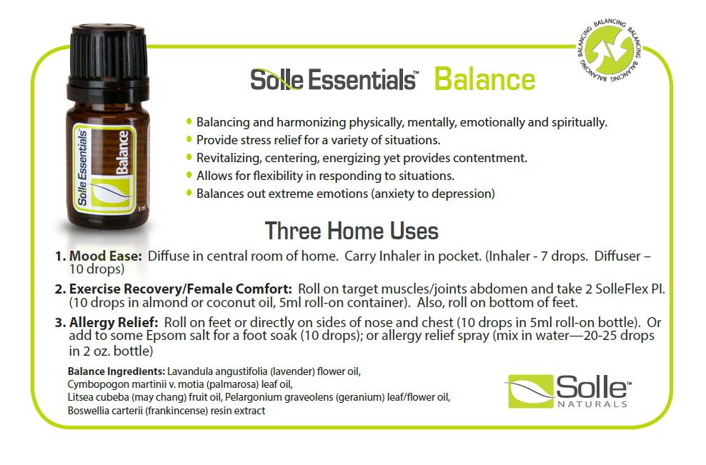 Solle Naturals Essential Oils