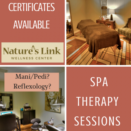 Gift Certificate Spa Therapy Sessions